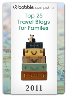 Babble Top 25 Family Travel Blogs