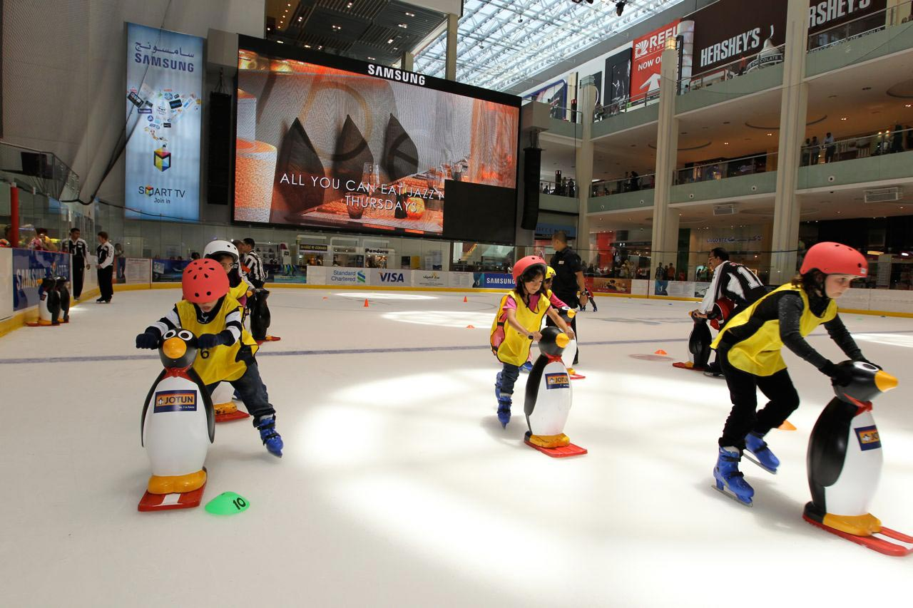 Dubai Ice Skating Dubai Mall Icerink