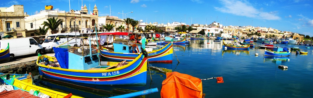 Marsaxlokk luzzu, Photo Credit: Malta Tourism Authority