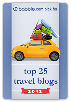 Babble Top 25 Family Travel Blogs 2012