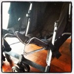 Stroller with Chassis broken